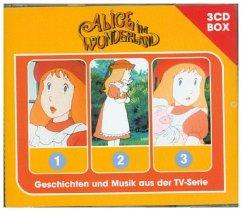 Alice Im Wunderland - 3CD-Hörspielbox, 3 Audio-CDs