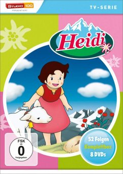 Heidi - TV-Serien Komplettbox (8 Discs)