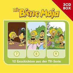 Die Biene Maja - 3-CD Hörspielbox, 3 Audio-CDs