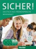 Medienpaket, 2 Audio-CDs und 2 DVDs zum Kursbuch / Sicher! C1