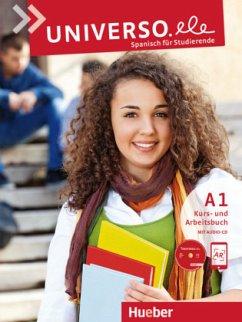 Universo.ele A1. Kursbuch + Arbeitsbuch + 1 Aud...