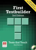 Student's Book without Key, with 2 Audio-CDs / First Testbuilder - 3rd Edition