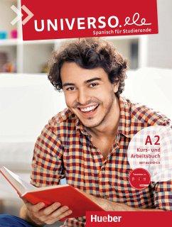 Universo.ele A2. Kursbuch + Arbeitsbuch + 1 Aud...
