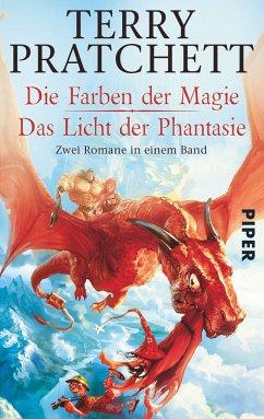 Die Farben der Magie - Das Licht der Phantasie / Scheibenwelt Bd.1&2 - Pratchett, Terry
