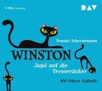 Jagd auf die Tresorräuber / Winston Bd.3 (3 Audio-CDs)