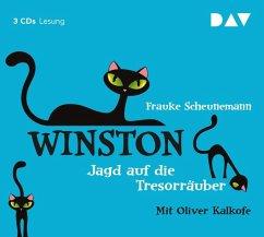 Jagd auf die Tresorräuber / Winston Bd.3 (3 Audio-CDs) - Scheunemann, Frauke