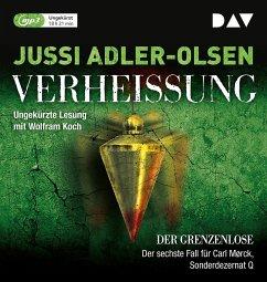 Verheißung - Der Grenzenlose / Carl Mørck. Sonderdezernat Q Bd.6 (2 MP3-CDs) - Adler-Olsen, Jussi