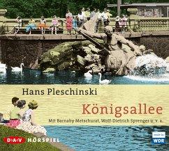 Königsallee, 2 Audio-CDs - Pleschinski, Hans