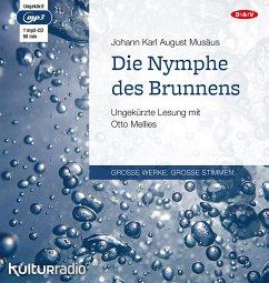 Die Nymphe des Brunnens, 1 Mp3-CD