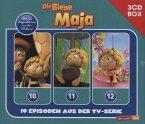 Die Biene Maja - 3-CD Hörspielbox zur neuen TV-Serie (CGI), 3 Audio-CDs