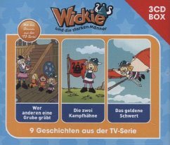 Wickie - 3-CD Hörspielbox, 3 Audio-CDs