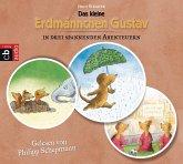 Das kleine Erdmännchen Gustav in drei spannenden Abenteuern, 3 Audio-CDs