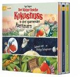 Der kleine Drache Kokosnuss in drei spannenden Abenteuern, 3 Audio-CDs