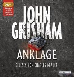 Anklage, 3 MP3-CD - Grisham, John