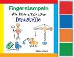 Fingerstempeln f. kl. Künstler-Baustelle-Set