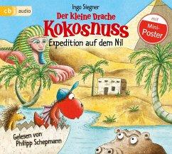 Der kleine Drache Kokosnuss - Expedition auf dem Nil / Die Abenteuer des kleinen Drachen Kokosnuss Bd.23 (1 Audio-CD) - Siegner, Ingo