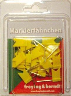 Pin Fähnchen gelb