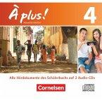 4 Audio-CDs / À plus! Nouvelle édition Bd.4