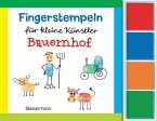 Fingerstempeln f.kl. Künstler- Bauernhof-Set
