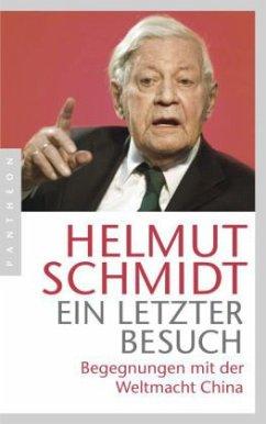 Ein letzter Besuch - Schmidt, Helmut