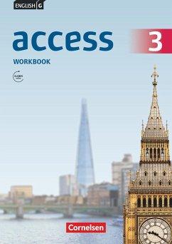 English G Access 3: 7. Schuljahr.Workbook mit Audios online - Seidl, Jennifer