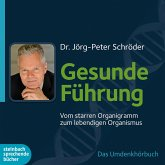 Gesunde Führung - Vom starren Organigramm zum lebendigen Organismus (Ungekürzt) (MP3-Download)
