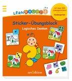 Lernraupe - Sticker-Übungsblock Logisches Denken