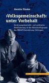 >Volksgemeinschaft< unter Vorbehalt (eBook, PDF)