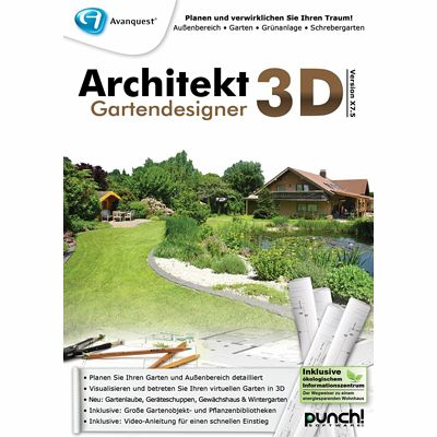 architekt 3d x7 5 gartendesigner download f r windows. Black Bedroom Furniture Sets. Home Design Ideas