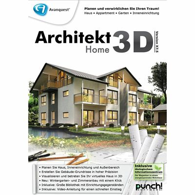 architekt 3d x7 5 home download f r windows. Black Bedroom Furniture Sets. Home Design Ideas