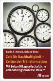 Zeit für Nachhaltigkeit – Zeiten der Transformation (eBook, PDF)