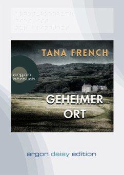 Geheimer Ort / Mordkommission Dublin Bd.5 (1 MP3-CDs) (DAISY Edition) - French, Tana