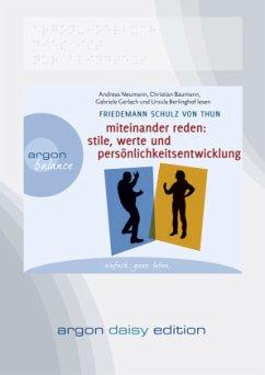 Miteinander reden, 1 MP3-CD (DAISY Edition) - Schulz von Thun, Friedemann