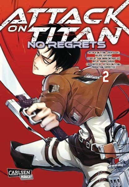 Buch-Reihe Attack on Titan - No Regrets