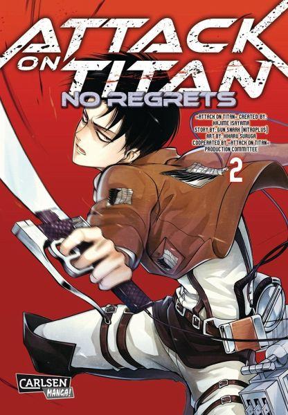 Buch-Reihe Attack on Titan - No Regrets