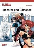 Monster und Dämonen / How to draw Manga Bd.17
