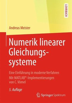 Numerik linearer Gleichungssysteme - Meister, Andreas