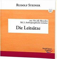Die Leitsätze - Steiner, Rudolf
