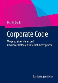 Corporate Code - Dunkl, Martin
