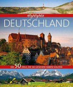 Highlights Deutschland (Mängelexemplar) - Becker, Eva; Pinck, Axel