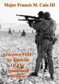 Ardennes-1944: An Analysis Of The Operational Defense (eBook, ePUB)