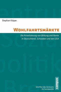 Wohlfahrtsmärkte (eBook, PDF) - Köppe, Stephan