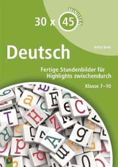 30 x 45 Minuten - Deutsch - Book, Britta