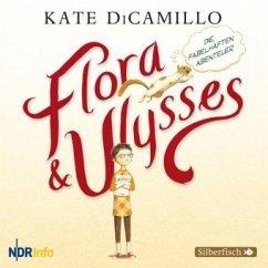 Flora und Ulysses - Die fabelhaften Abenteuer, 1 Audio-CD - DiCamillo, Kate