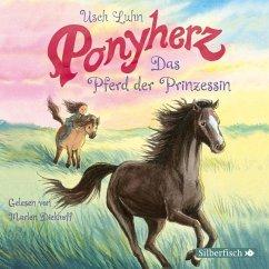Das Pferd der Prinzessin / Ponyherz Bd.4 (1 Audio-CD) - Luhn, Usch