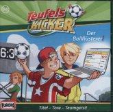 Die Teufelskicker - Der Ballflüsterer! / Teufelskicker Hörspiel Bd.54 (1 Audio-CD)
