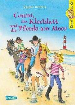 Conni, das Kleeblatt und die Pferde am Meer / Conni & Co Bd.11 (eBook, ePUB) - Hoßfeld, Dagmar