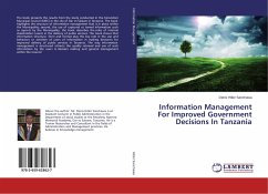 Information Management For Improved Government Decisions In Tanzania