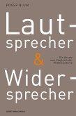 Lautsprecher und Widersprecher (eBook, PDF)
