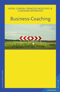 Business-Coaching (eBook, PDF) - McMahon, Gladeana; Moscovici, Francois; Leimon, Averil